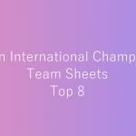 トップ8使用構築まとめ - ヨーロッパインターナショナル2016