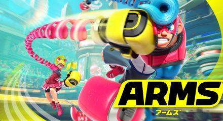 ニンテンドースイッチ「ARMS(アームズ) 」発売日・予約ページ